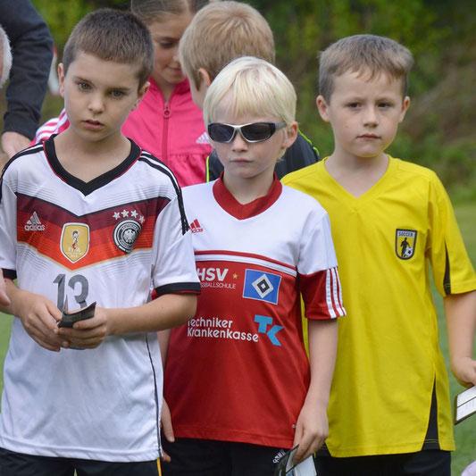 Kleine Fußballer können auch in diesem Jahr wieder ihr DFB-Abzeichen ablegen.