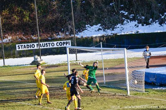 2014-15 DERTHONA-SPORTING BELLINZAGO 1-1 Pareggio di Baudinelli
