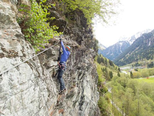 """Im Klettergarten """"Rifa"""" bei Gaschurn"""