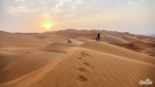The Michaels, Wüste, Allein im Nirgendwo, Defender Wüste, Camping in der Wüste