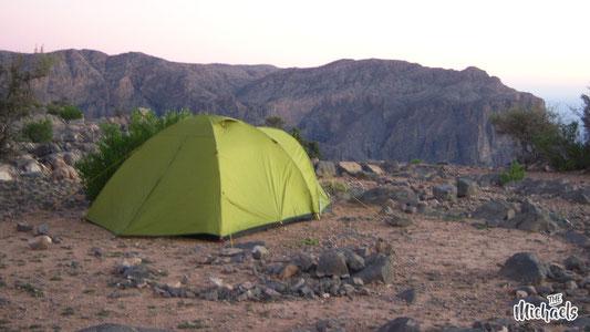 The Michaels, Camping Oman, Zelten im Oman, Mietwagenrundreise