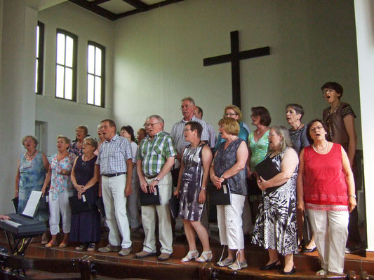 Singen in der Christuskirche