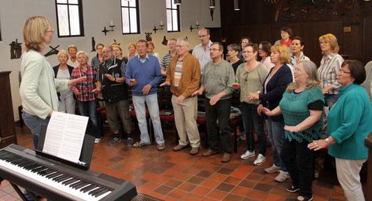 Probe zur Filmmusik - Foto: Antje Pflips
