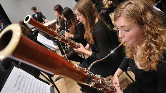 instruments à vent basson