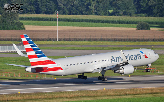 N347AN B767-323ER 33086/908 American Airlines