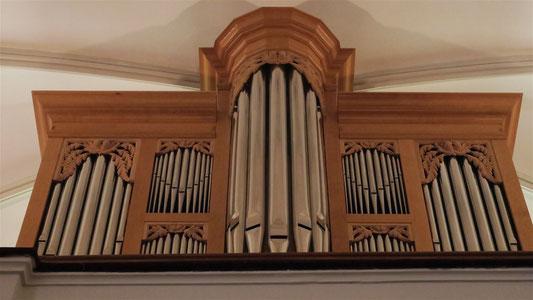 Orgue de l'église réformée de Pau . œuvre de F. Desmottes facteur à Landete (Espagne)