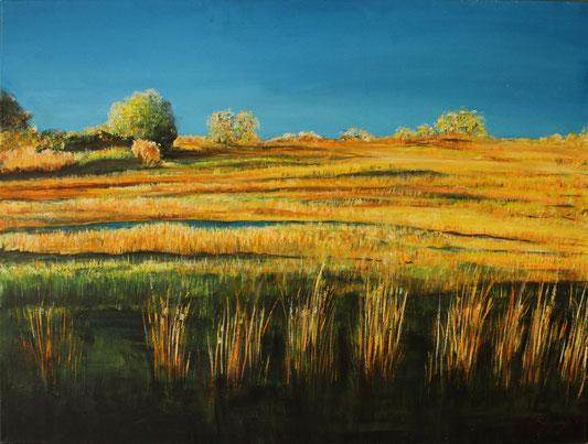 Provence 60 x 80 cm Acryl auf Leinwand