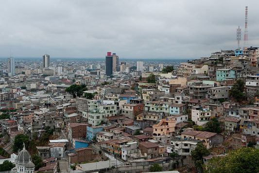 View of Guayaquil (2009, source Wikicommons)