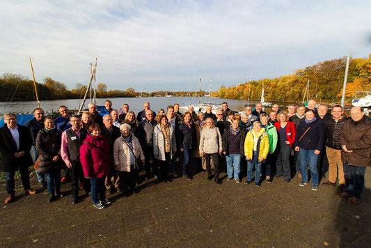 Gruppenbild Pfarrei ohne Grenzen KONKRET November 2019