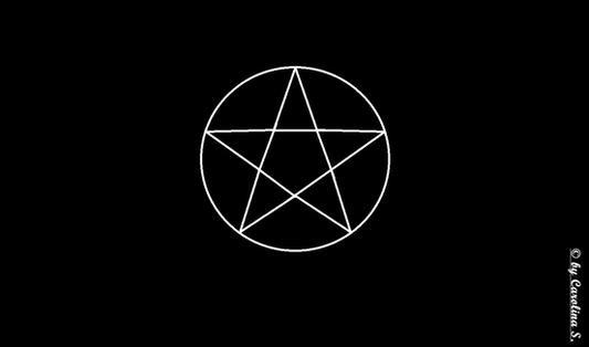 Das Pentagramm ist ein Schutzsymbol und wird daher zum Schutz vor bösen Geistern oder schwarzer Magie benutzt.
