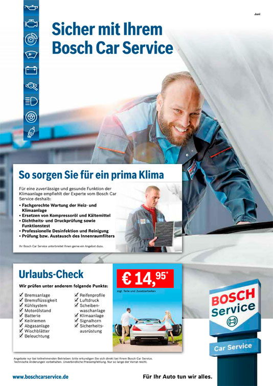 Aktuelle Angebot Bosch-Car-Service in Bochum