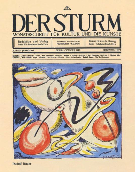 『デア・シュトゥルム』1917年10月号
