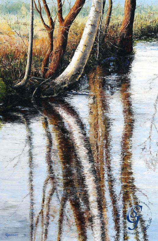 Fintauleben, 80x120 cm, Öl auf Leinwand