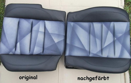 neu gefärbter Limited Sitz (rechts)