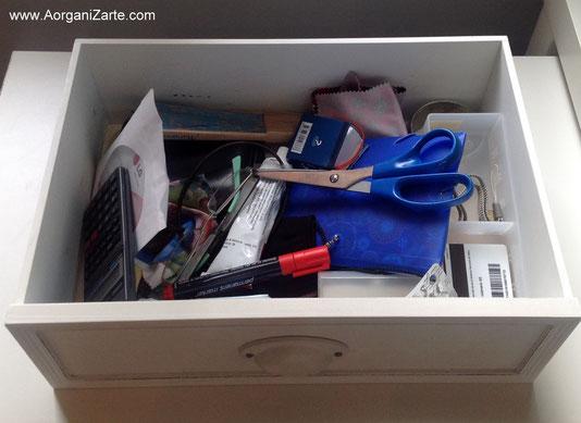 Deshazte del cajón de sastre - www.aorganizarte.com