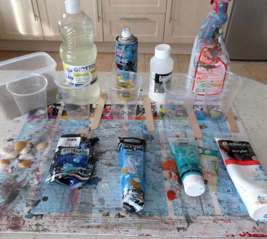 materiel-peinture-fluide-melange-peinture-acrylic-pouring-tuto-en-francais