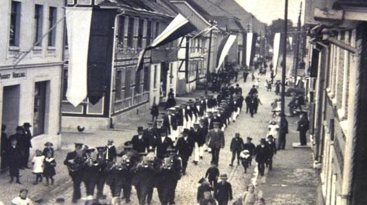 1912 Festzug zum Turnerfest