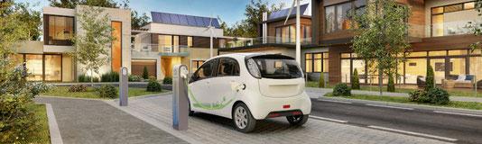 Ladestation Elektro-Auto