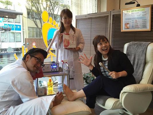 RKB・ラジオ取材・福岡けやき通り店