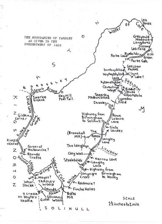 Boundaries in 1609