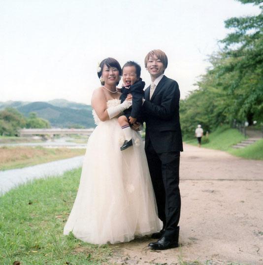 F様ご家族(2017年9月 カラーフィルム撮影)
