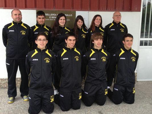 Campeonato de España Sub 17 (A Estrada 2013) - Equipación Nueva