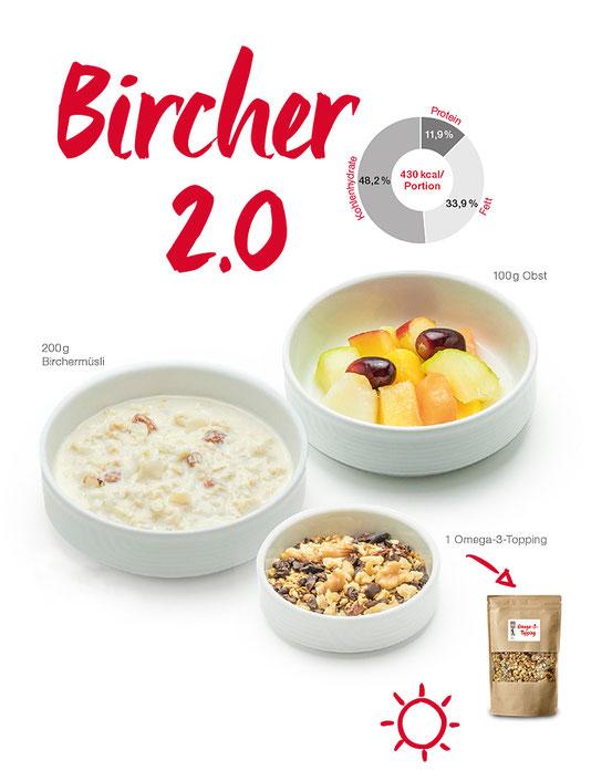 Intercity-Fruehstuecksvariante: Bircher 2.0, Omega-3, Omega-Eating, Praxis Dr. Matthias Marquardt