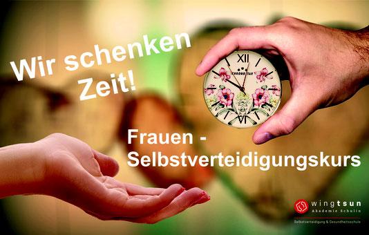 Frauen Selbstverteidigung Crash Kurs Augsburg - Spendenaktion Frauenhaus Augsburg