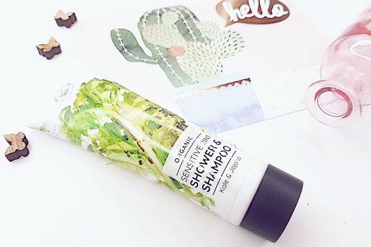 Bio Duschgel Shampoo Naturkosmetik Gemüse Hands on Veggies Produktreview Healthlove