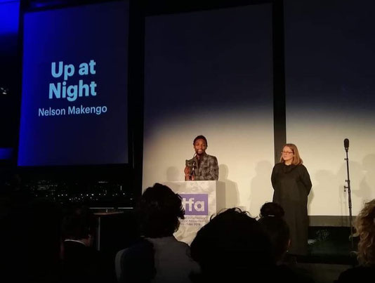 Congolese director Nelson Makengo won Best Short Film Award at IDFA 2019 with Up At Night