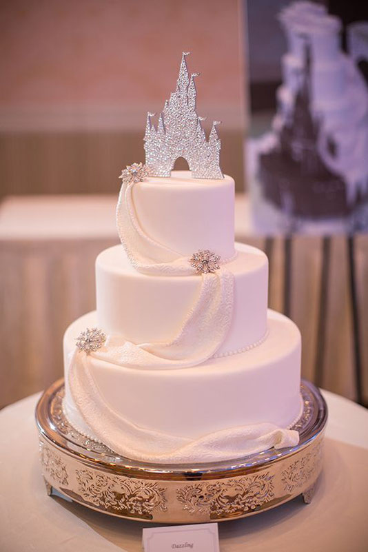 Weeding-cake mariage élégant! ! Source Pinterest