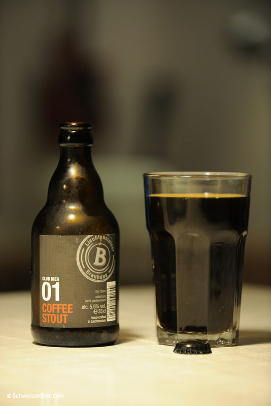 01 Coffee Stout - Liechtensteiner Brauhaus