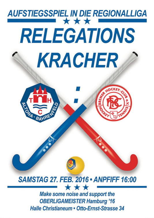 Relegationsplakat