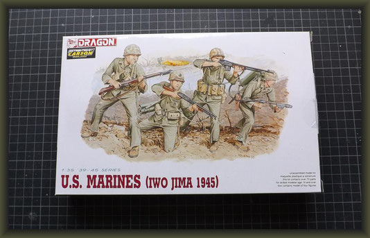 DRAGON 6038 1/35 U.S. Marines (Iwo Jima 1945)
