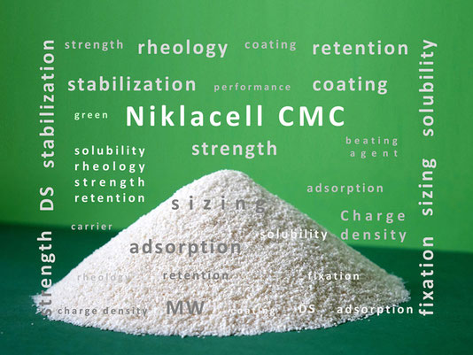 Niklacell CMC carboxymethyl cellulose Mare Austria
