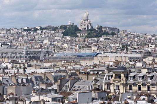 Vue de la butte de Montmartre