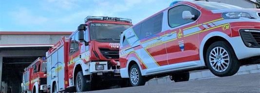 Feuerwehr Beschriftung, Flottenbeschriftung,