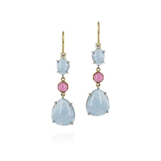diamant-aquamarin-rosa-turmalin-cabochon-ohrringe-goldschmiede-herzog