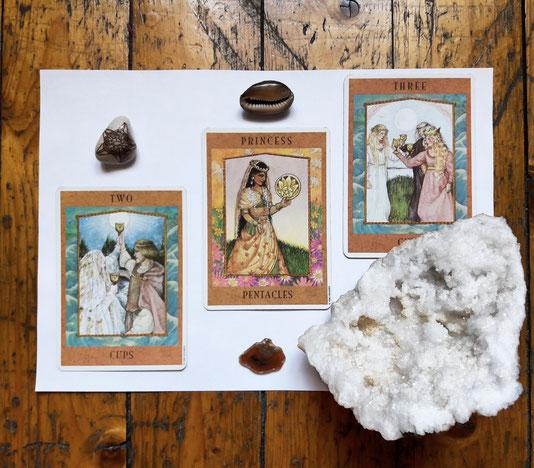 Selbstwert ~ Eine Tarot-Meditation, die Wünsche erfüllt.