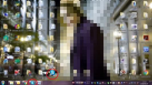 マンガスクール・はまのマンガ倶楽部/Skype39