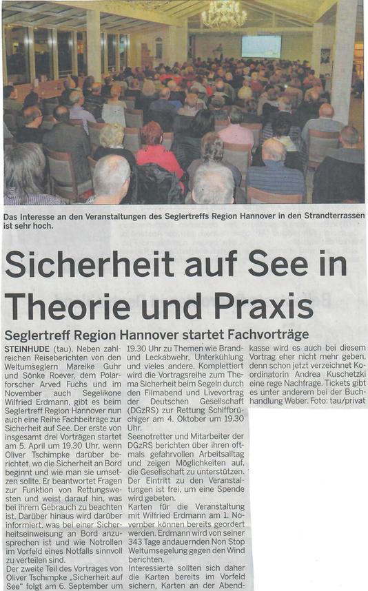 Wunstorfer Stadtanzeiger, 1. April 2108