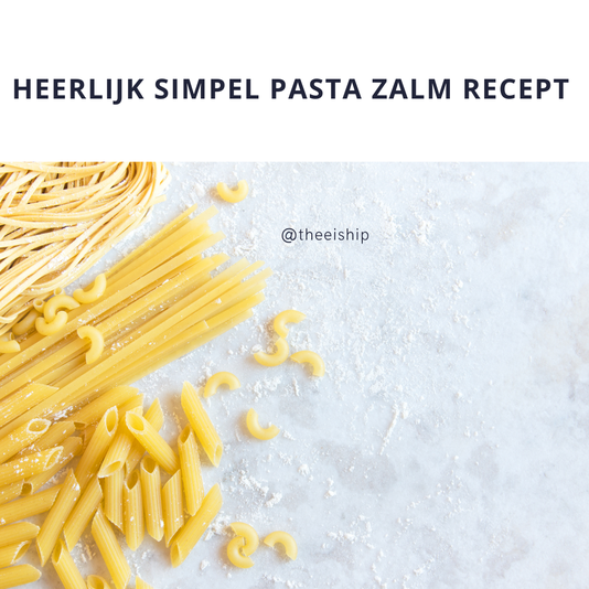 Makkelijk en snel pasta gerecht. By Thee is Hip!