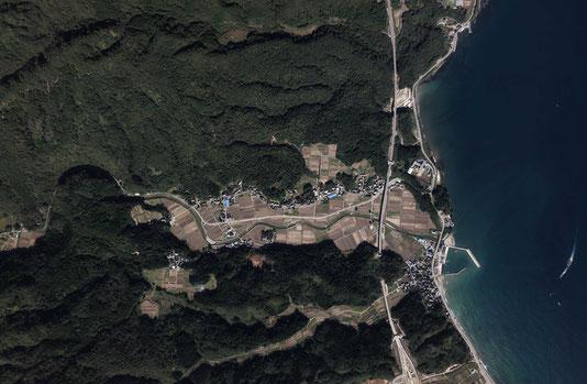 【村づくり/旅館・店舗設計】大吞村航空写真
