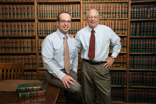 Bonney Law Firm attorneys Greg Bonney and Sam Bonney