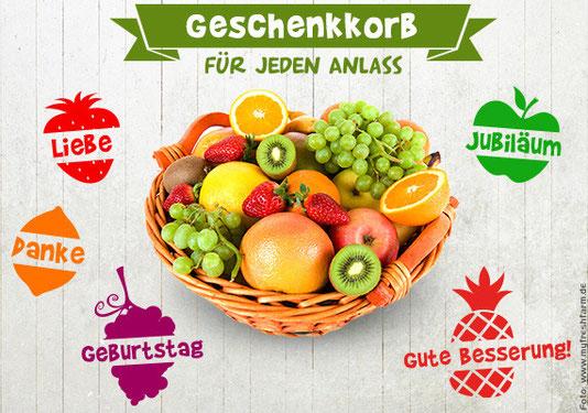 Alltagsabenteurer Alltagsabenteuer Obstkorb Obst liefern lassen Geschenkkorb Myfreshfarm My fresh farm Obst-Lieferservice