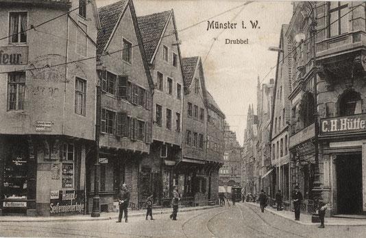 Der Drubbel etwa 1903 ' - Sammlung Stoffers (Münsterländische Bank Thie - Stadtarchiv)