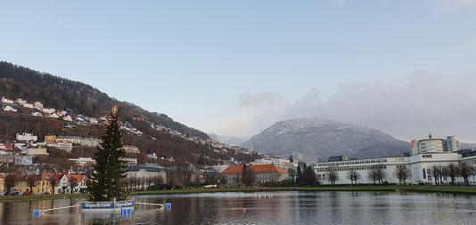 Bergen ... mal ohne Regen
