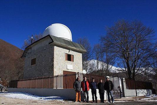 L'Osservatorio Astronomico di Campo Catino