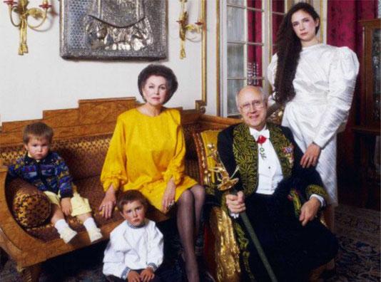 Г.Вишневская и М.Ростропович