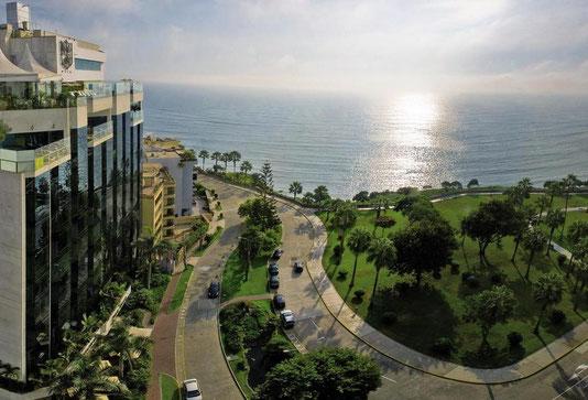 Hôtel Belmond miraflores park au Pérou